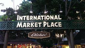International Market Place Stock Image
