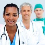 International medical team standing Stock Photos