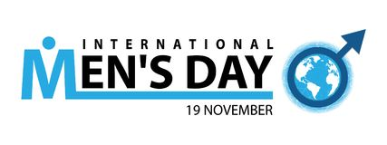 International men`s day. On November 19 Background Royalty Free Stock Photography