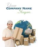 International messenger Royalty Free Stock Photos