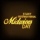 International Midwives Day. Vector illustration of a Banner for International Midwives Day vector illustration