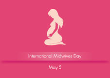 International Midwives Day vector Stock Photos