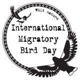 International Migratory Bird Day Royalty Free Stock Images