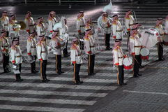 The international military-musical festival Stock Image