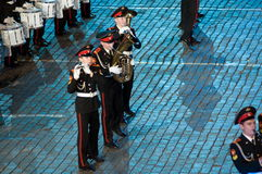 The international military-musical festival Stock Images