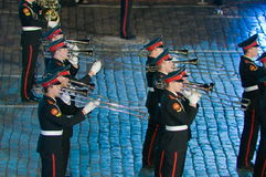 The international military-musical festival Stock Photo