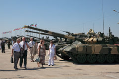 International military salon stock images