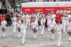 International Military Tattoo in Hong Kong Royalty Free Stock Photos