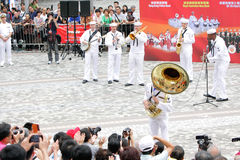 International Military Tattoo in Hong Kong Royalty Free Stock Photography