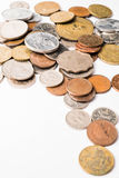 International mixed coins Royalty Free Stock Photo