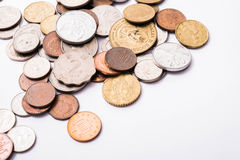 International mixed coins Stock Images