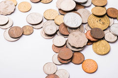 International mixed coins Stock Photography