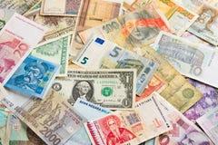 International money background Royalty Free Stock Photography