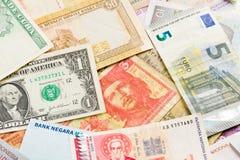 International money background Royalty Free Stock Photo