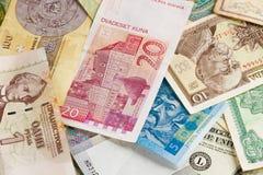 International money background Stock Image