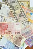 International money Stock Photo