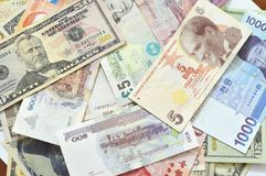 International money Stock Photography