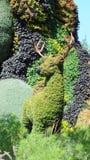 INTERNATIONAL 2013 MOSAICULTURES, САД МОНРЕАЛЯ БОТАНИЧЕСКИЙ, Монреаль, Квебек Вход CDN: Мать-земля - олень Стоковое Изображение