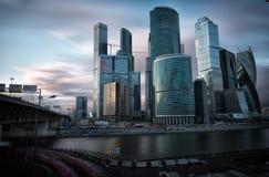 international moscow делового центра стоковые фотографии rf