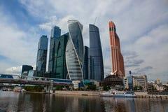 international moscow делового центра Стоковое Фото