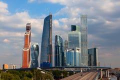 international moscow делового центра Стоковое Изображение RF