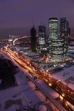 international moscow för affärsmitt Royaltyfria Bilder