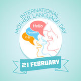International Mother Language Day Royalty Free Stock Image