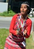 International Mountain Dance Festival Stock Images