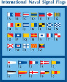 International Naval-Marine Signal Flags Stock Photography