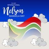 International Nelson Mandela Day. Stock Image