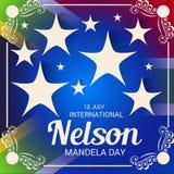 International Nelson Mandela Day. Stock Photo