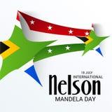 International Nelson Mandela Day. Stock Photos