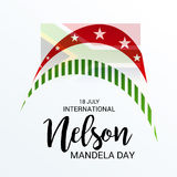 International Nelson Mandela Day. Stock Images