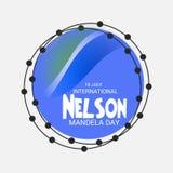 International Nelson Mandela Day. Royalty Free Stock Photography