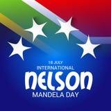International Nelson Mandela Day. Royalty Free Stock Images