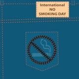 International No Smoking Day Royalty Free Stock Photography