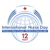 International Nurse Day- a postcard, poster or banner for the holiday. vector illustration