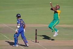 International one-day cricket Royalty Free Stock Image