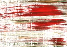 International orange abstract watercolor background stock image