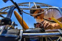 International Paramotor air show Royalty Free Stock Image