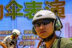 International Paramotor air show Stock Photos