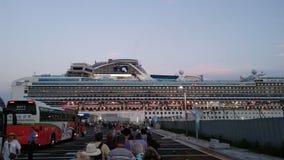 Free International Passengers Boarding The Diamond Princess Cruise Stock Photo - 187328560