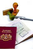 International Passport Series 04 Royalty Free Stock Image