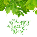 International Peace Day Royalty Free Stock Images