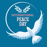 International Peace Day Emblem Stock Images