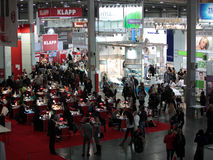 International perfumery and cosmetics exhibition i Stock Photo