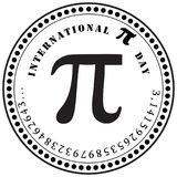 International Pi Day Royalty Free Stock Photos