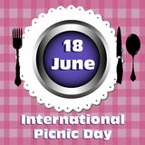 International picnic day Royalty Free Stock Photo