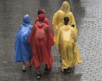 International pilgrims in Krakow Stock Image