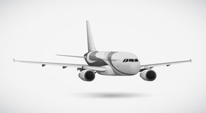 An international plane Royalty Free Stock Images